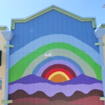 horizon mural